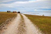 Helgumannen fishing village on Faroe, Gotland, Sweden