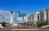 View Of Astana Modern City