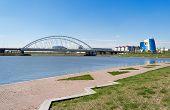 Embankment On The Ishim River In Astana