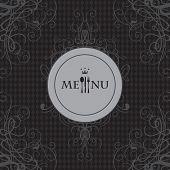 Menu with cutlery