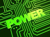 power illustration