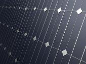close up of solar panel
