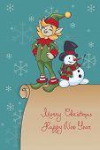 Christmas Santa Elf design