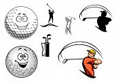 Golf equipment and players