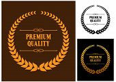 Premium Quality laurel wreath icons