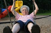 Swinging Grandmother 11