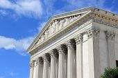 picture of supreme court  - Washington DC capital city of the United States - JPG