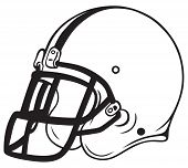 pic of football helmet  - Helmet football - JPG