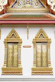 stock photo of buddhist  - Wat Benchamabophit Dusitvanaram is a Buddhist temple  - JPG
