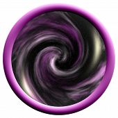 Large Purple Space Button