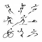 Coleção de ícones de esportes