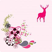 deer background