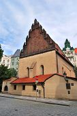 Prague. Old-new Synagogue