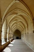 The Small Cloister In  Brou Royal Monastery