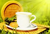 Good Morning Beverage poster