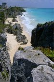 Tulum From The Cliffs