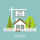 Home For Rent Icon poster