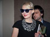 MOSCOW - JUNE,20: Actress Renata Litvinova. Press Conference of Film