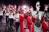 MOSCOW - September 9: Qatar Orchestra. International Military Music Festival