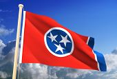 Tennessee Flag (Clipping Path)