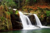 waterfall in jiangxi lushan