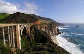 stock photo of bixby  - Bixby Bridge on the Big Sur Coast of California - JPG