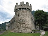 Ancient fortifications in Bellinzona