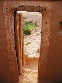 Blick auf Oase von Festung Diraja in äh Riyadh, Saudi Arabien