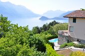 Holiday villa overlooks Lake Como, Italy