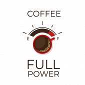 Coffee Infographic. Types Of Coffee. Flat Style, Vector Illustration. poster