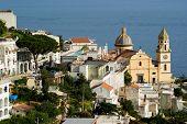 view on village of coast Amalfi; ( (Praiano-Vettica