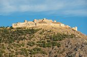 picture of argo  - The imposing ruins of the fortress of Larissa in Argos - JPG