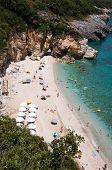 Playa de Mylopotamos - Tsagarada - una de las más hermosas playas de Pelion, Grecia