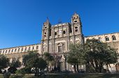 the monastery of Saint Lucia in Adrano is one of the largest in Sicily