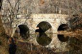 RNfieldstone Bridge Over Winter StreamRN