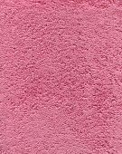 Pink Color Bath Towel Texture. Pink Cloth Bath Towel Background. poster