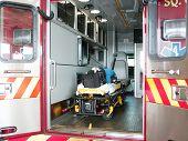 Caminhão do paramédico