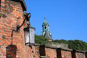 Lantern Of Wawel Castle. Krakow. Poland.