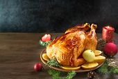 Christmas Chicken Or Turkey poster