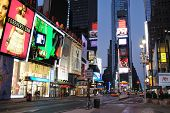 NEW YORK CITY - SEPTEMBER 5: Times Square offers landmark attractions and interactive LED billboards