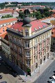 Roofline in Prague, Czech Republic.
