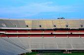 ATHENS, GEORGIA - MAY 29: Sanford Stadium is home to the University of Georgia Bulldogs football tea