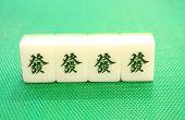 tegels van mahjong