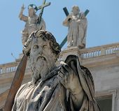 St. Paul statue in Vatican