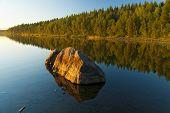 Umba River. Russia. Kola Peninsula.