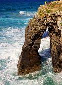 Playa De Las Catedrales Arch