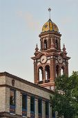Bell Tower In Plaza District Of Kansas City Missouri