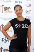 LOS ANGELES - SEP 7:  Alicia Keys arrives at the 2012 Stand Up To Cancer Benefit at Shrine on Septem