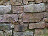 Dry Laid Stone Wall