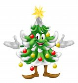 Decorated Christmas Tree Man